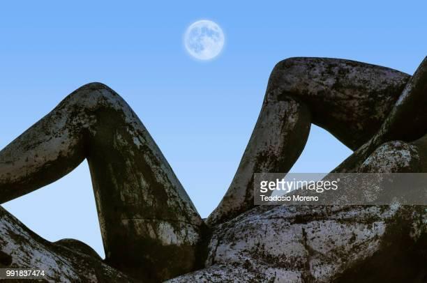 statue of fisherman - teodosio moreno fotografías e imágenes de stock