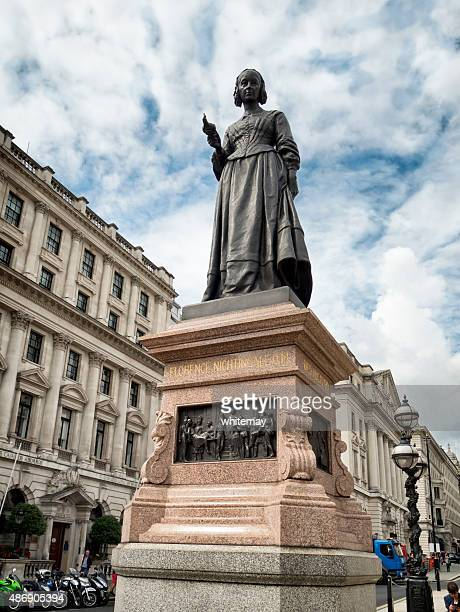 statue of florence nightingale - florence nightingale stock pictures, royalty-free photos & images