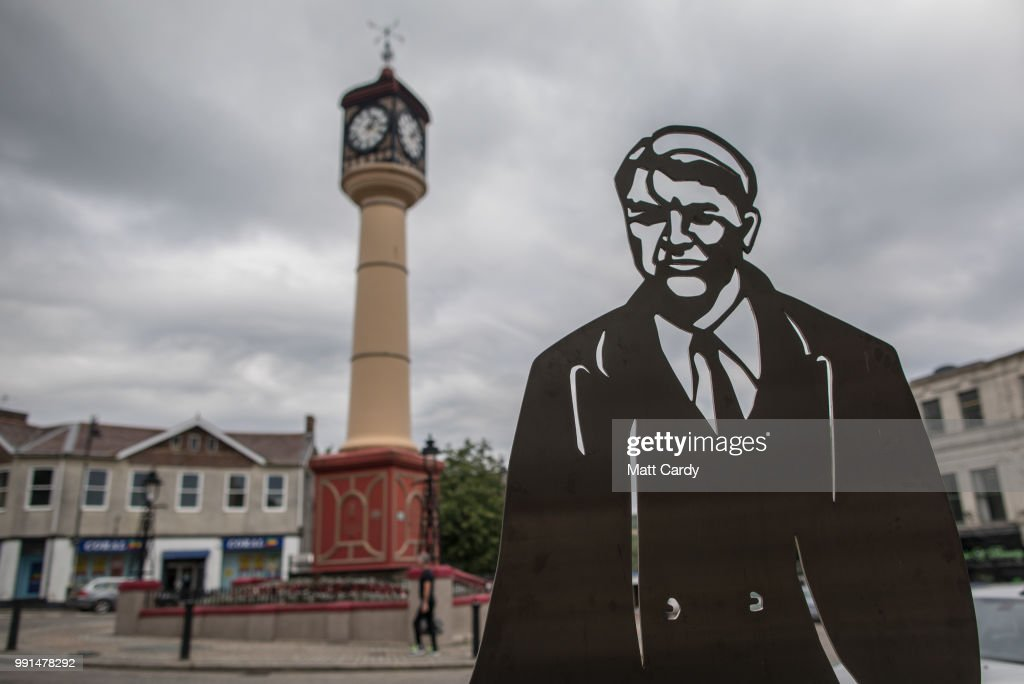 A statue of founder of the National Health Service (NHS), Aneurin Bevan, is seen in Tredegar on July 4, 2018 in Wales, United Kingdom. The NHS, which was created 70 years ago tomorrow, was founded by Minister for Health, Aneurin Bevan, who was born in Tredegar and was the Labour Party's local Member of Parliament from 1929 to 1960.