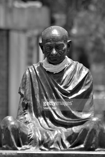 Statue of Gandhiji at the Gandhi ashram