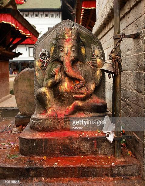 statue of ganesh - hinduism bildbanksfoton och bilder