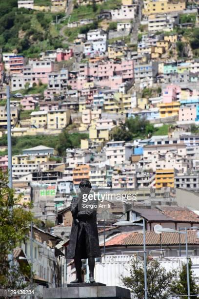 Statue of General Antonio Jose de Sucre in Quito