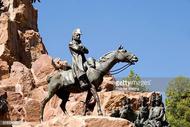 Statue Of General San Martin; Mendoza Argentina