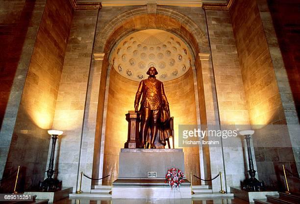 Statue of George Washington, Masonic Temple, VA