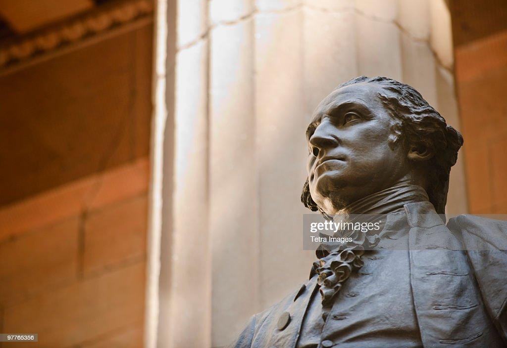 Statue of George Washington : Stock Photo