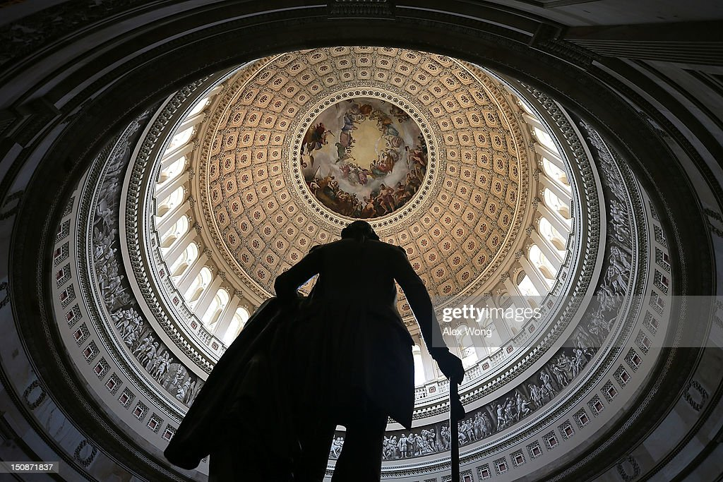 Congress Struggles With Funding Repairs To U.S. Capitol Dome : News Photo
