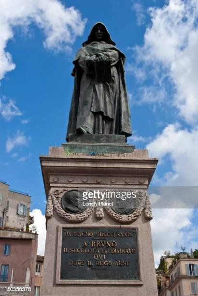 Statue of Giordano Bruno, Campo de Fiori.