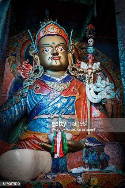 Statue of Guru Rinpoche, Hemis Monastery, Leh Ladakh, India