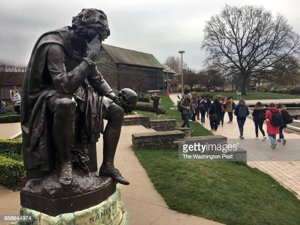 A statue of Hamlet in StratforduponAvon Shakespeare's hometown Last June the town voted 5248 percent in favor of Brexit a result that matched the...