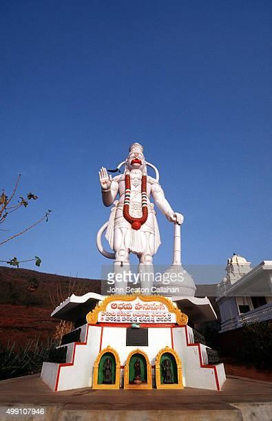 Statue of Hanuman, the Monkey God.