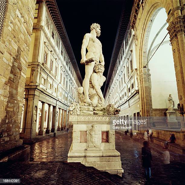 Statue of Hercules and Cacus by Uffizi Gallery