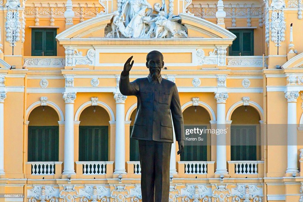 Statue of Ho Chi Minh : Stock Photo