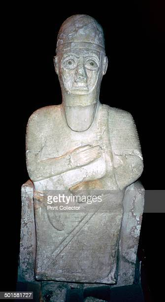 Statue of Idrimi a king of Alalakh Late Bronze Age/Syrian 16th century BC An inscription in Babylonian cuneiform script says that he was one of the...
