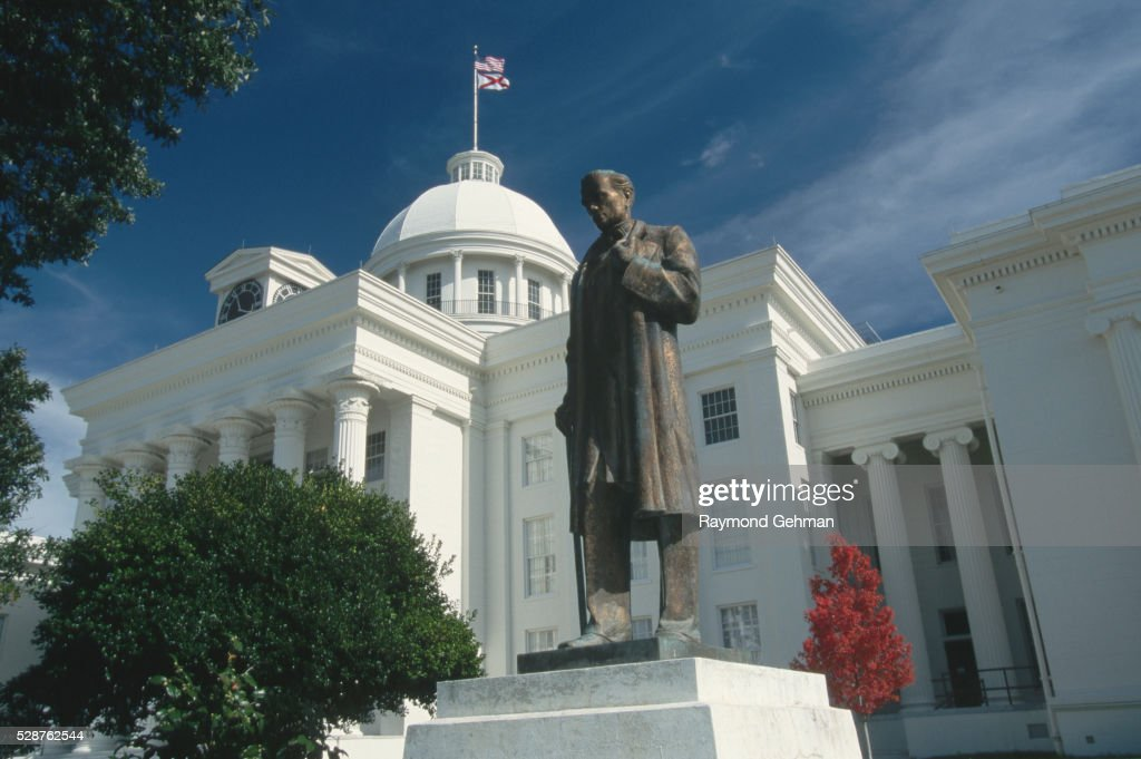 Statue of James Marion Sims at Alabama State Capitol : ストックフォト