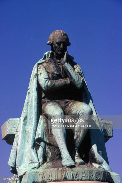 Statue Of Jean Baptiste De Lamarck Founder Of The Evolutionism At Paris Jardin Des Plantes May 1994