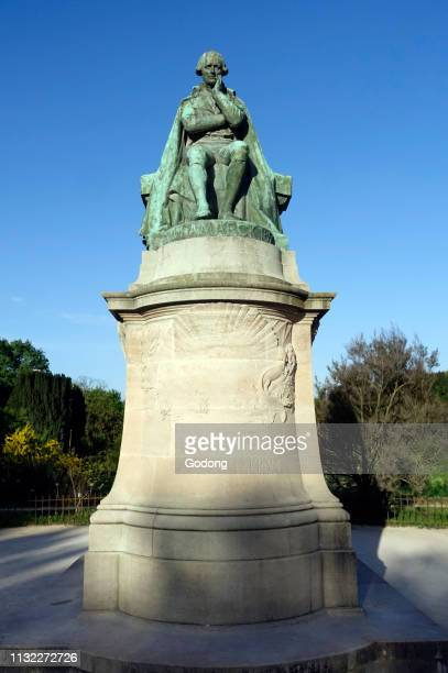 Statue Of Jean Baptiste Lamarck Founder Of The Evolutionism Jardin des Plantes Paris France