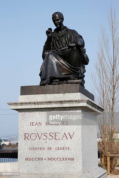Statue of JeanJacques Rousseau