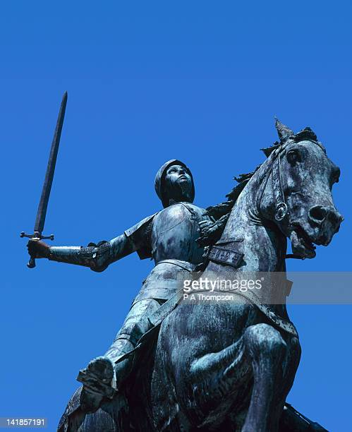 Statue of Joan of Arc, Reims, Marne, France