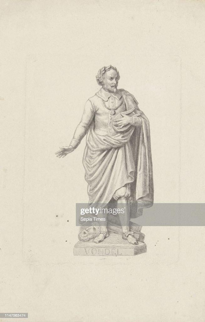 Statue Of Joost Van Den Vondel Reinier Craeyvanger Louis
