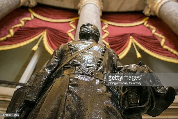 STATES JUNE 24 A statue of Joseph Wheeler of Alabama is seen in Statuary Hall of the US Capitol on Wednesday June 24 2015 Wheeler pictured in his...