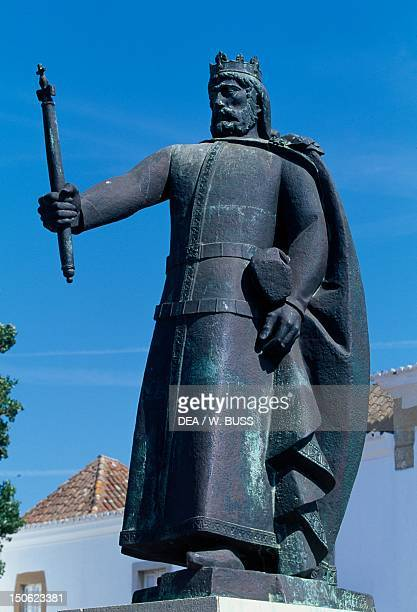 Statue of King Afonso III House of Burgundy Faro Portugal