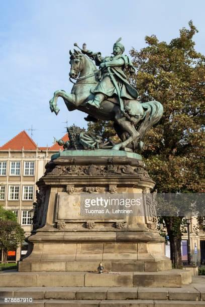Statue of King John III Sobieski in Gdansk