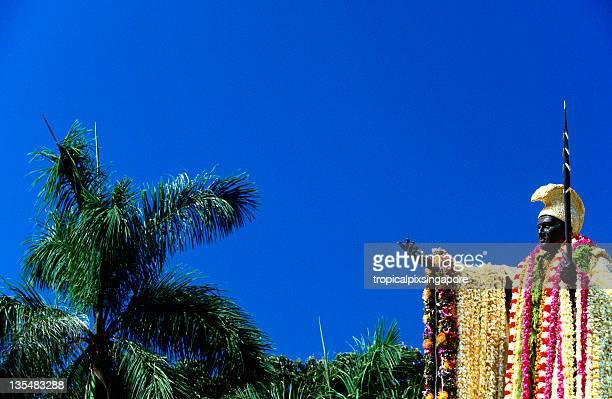 米国ハワイ O'ahu 、King Kamehameha I 、フラワーレイます。