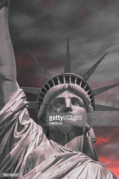 Statue of Liberty, Liberty Island, New York, America, USA