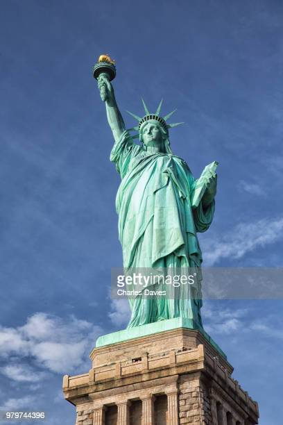statue of liberty, liberty island, new york city, new york state, usa - 自由の女神 ストックフォトと画像