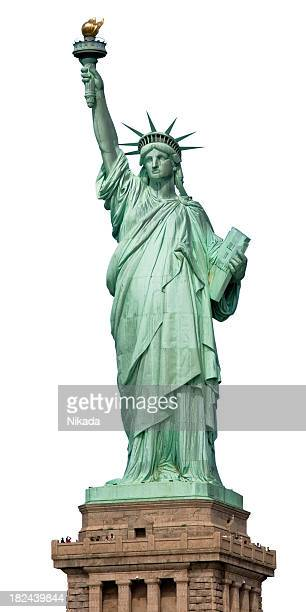 statue of liberty nyc - statue of liberty stock pictures, royalty-free photos & images