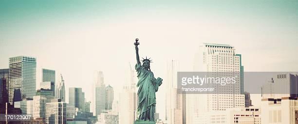 Statue of Liberty on New York City