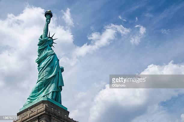 statue de la liberté - ogphoto photos et images de collection