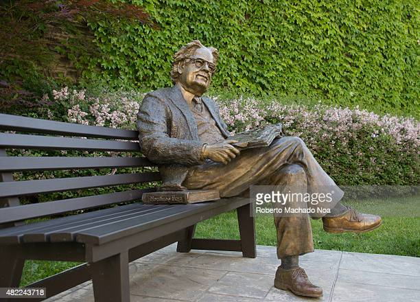 Statue of literary critic Northrop Frye on a park bench at Victoria College University of Toronto Herman Northrop Frye was a Canadian literary critic...