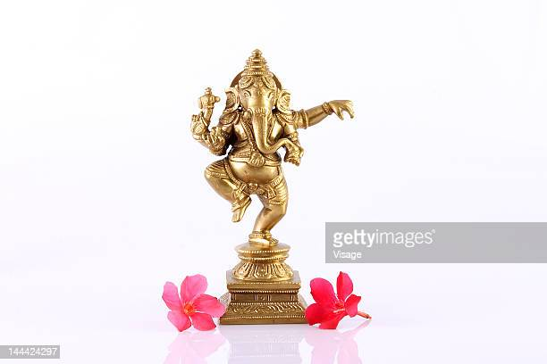 statue of lord ganesh - hindu god stock photos and pictures