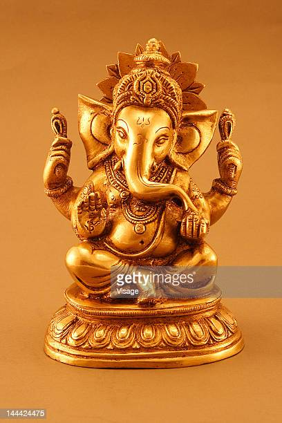 statue of lord ganesh - ganesha stock photos and pictures