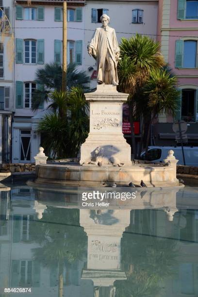 Statue of Lord Henry Brougham (1778-1868) Cannes