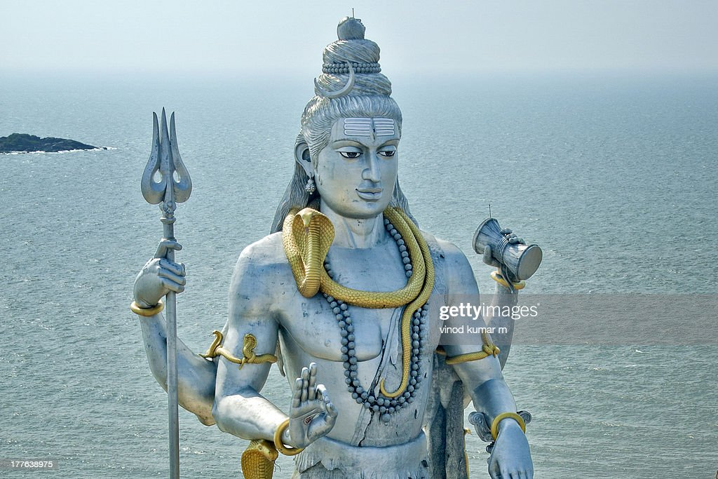 Statue of Lord Shiva : Stock Photo