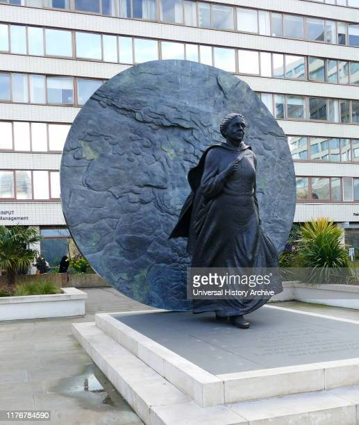 Statue of Mary Seacole at St Thomas' Hospital London by Martin Jennings Mary Jane Seacole OM BritishJamaican business woman and nurse who set up the...