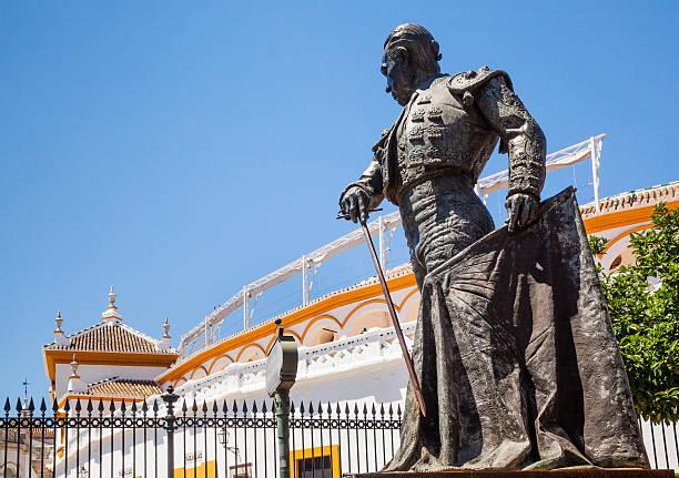 Statue of Matador Curro Romero