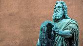 Statue of Moses by Herman Vilhelm Bissen in Copenhagen