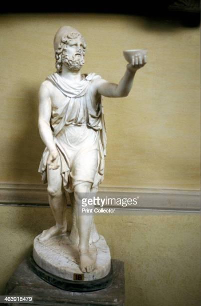 Statue of Odysseus hero of Homer's epic poem The Odyssey