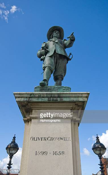 Statue von Oliver Cromwell St Ives