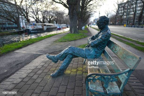 A statue of Patrick Kavanagh an Irish poet and novelist near the Grand Canal in Dublin In two days a historic vote on Prime Minister Theresa May's...
