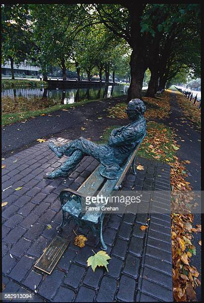 Statue of Patrick Kavanagh