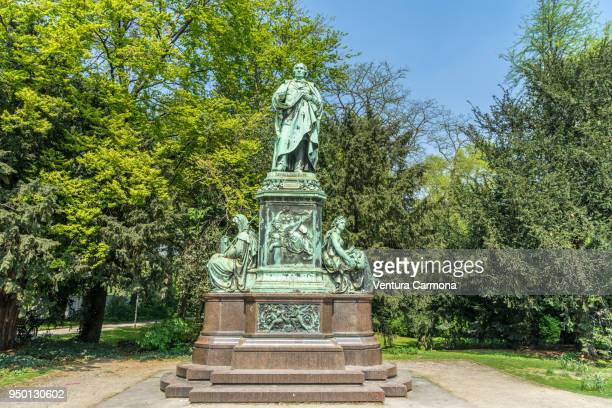 Statue of Peter von Cornelius in Düsseldorf -Germany-