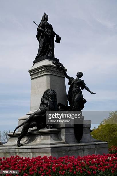 Statue of Queen Victoria, Parliament grounds, Ottawa, Ontario, Canada
