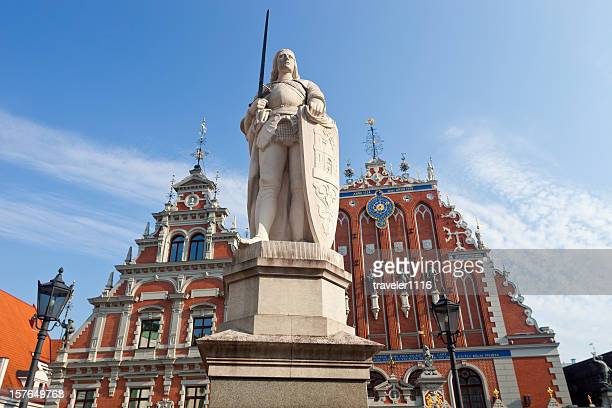 Statue Of Roland In Riga, Latvia