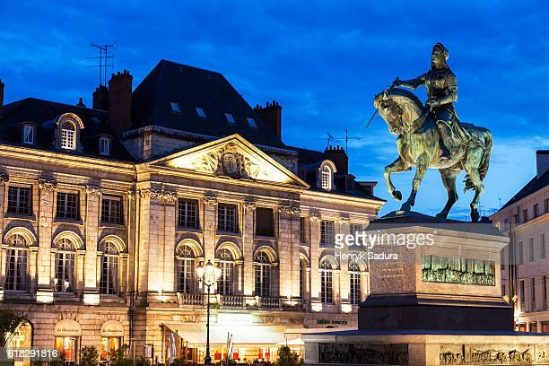 Statue of Saint Joan Of Arc in Orleans