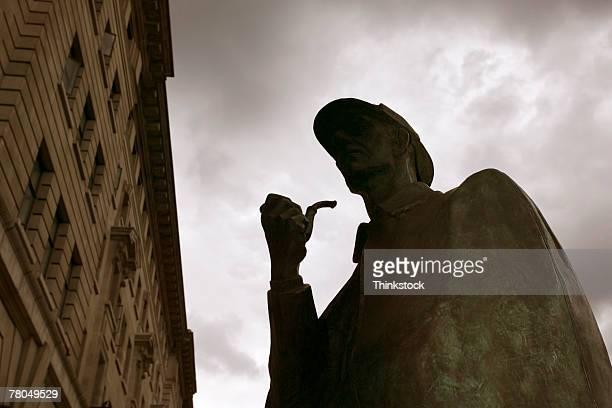 Statue of Sherlock Holmes, London, England