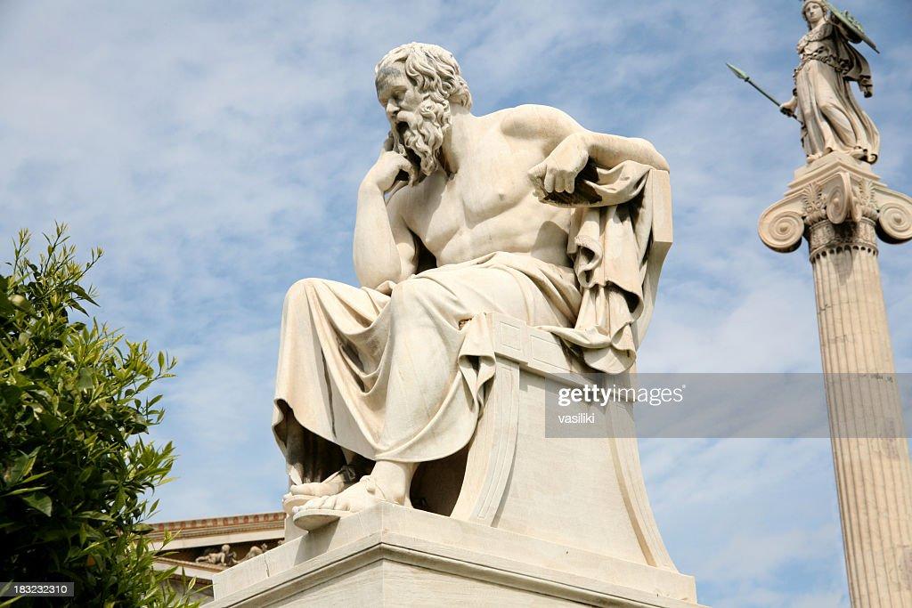 Sokrates, der Philosoph : Stock-Foto